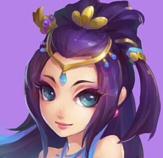 紫霞仙子和至尊宝卡通