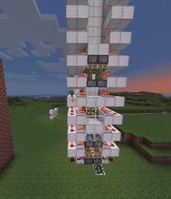 我的世界教你怎么做红石电梯攻略分享