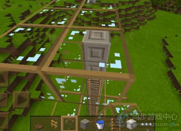 我的世界手机版电梯建造教学