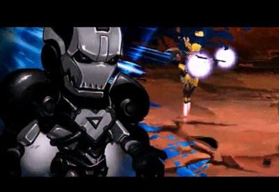 超级英雄游戏宣传视频