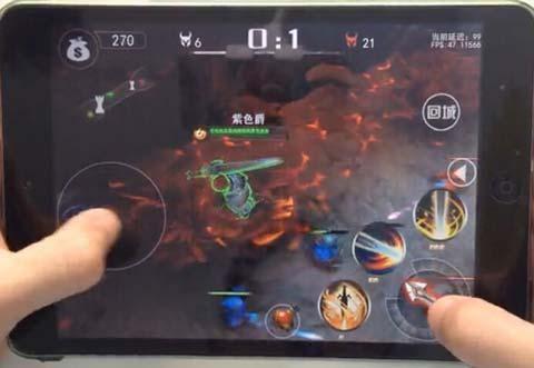 《自由之战》游戏 亚瑟王技能操作视频