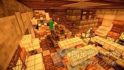 中世纪小屋子