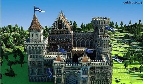 我的世界手机版中世纪城堡