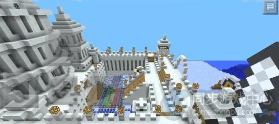 我的世界安卓存档-海边城堡