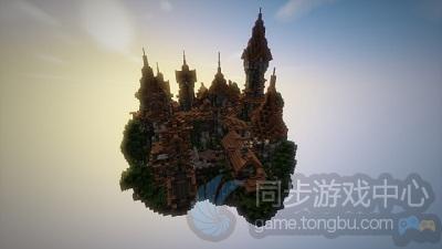 魔幻的天空城堡