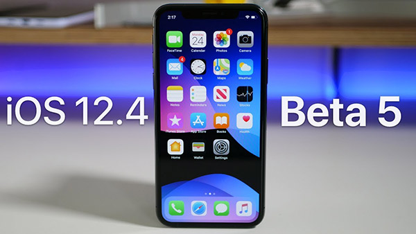 iOS12.4 beta5发布